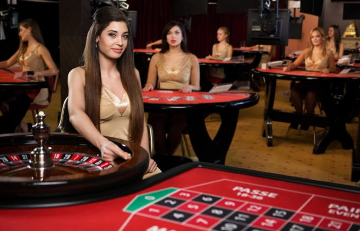 Live casino games provide the taste of real gambling!